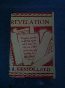 Lectures on the Book of Revelation - Hardcover By H. A. Ironside - GOOD