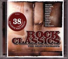 2 CD (NEU!) ROCK CLASSICS (dig.rem Paranoid Smoke on the Water Black Betty mkmbh