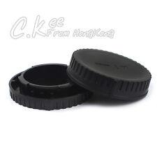 Rear Lens Cap and Body Cap For Nikon 1 J5 V3 AW1 V1 V2