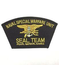 US NAVAL SPECIAL WARFARE UNIT SEAL TEAM PEARL HARBOR HAWAII PATCH -1029