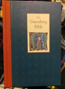 The Gutenberg Bible by James E. Thorpe HC 48 pages History of Bible VG