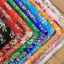 Floral Fabric Ethnic Satin Faux Silk Damask Brocade Chinese Retro DIY Dress