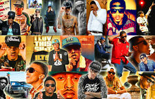 August Alsina Collage Poster
