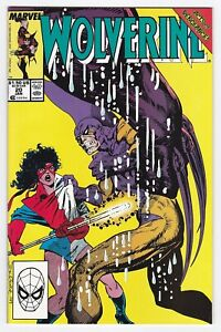 1990 Marvel Comics Wolverine #20 Miracles Acts of Vengeance Arc
