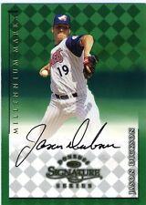 Jason Dickson 1998 Donruss Millennium Marks 0956 Signature Series Autograph
