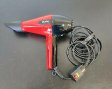 Elchim 2001 Professional Hair Dryer 2000 Watts  High Pressure Red Color