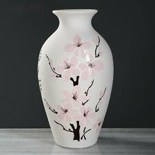 Handmade ceramic vase CLASSIC openwork and sakura 38 sm in unbreakable pack