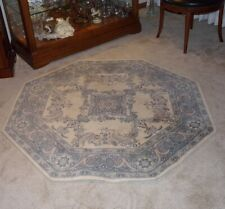"54"" Octagon Wool Area Rug"