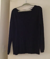 Atmosphere Women's Top XL  Black  Knit Direct From Uk  NWT  So Chic SHIPS FREE