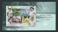 2004 COCOS (KEELING) ISLANDS 50th Anniv. Royal Visit Minisheet MNH (SG MS405)