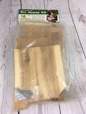 Songbird Essentials - Bat House Wood Craft Kit (Sesc00610) Kids Project Usa Made