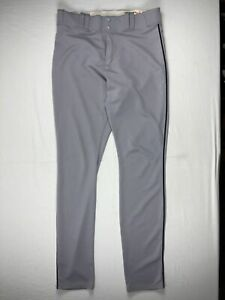 Tampa Bay Rays Majestic Athletic Pants Men's Gray Poly Used 38-42