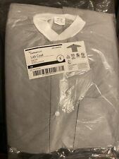 Cardinal Health Lab Coats Disposable 10 Pack Gray/White Small S New