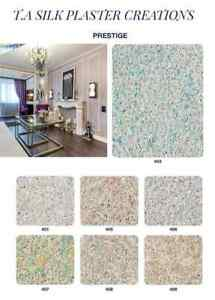 Silk decorative plaster (liquid Wallpaper) PRESTIGE COLORS