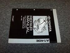 1994 1995 1996 Toyota Celica GT A140E Transmission Shop Service Repair Manual