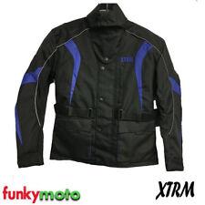 Blousons bleus pour motocyclette Homme