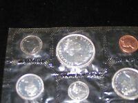 1966 $1 Canada Silver Dollar Mint Proof Set 1966 Canadian Voyageur Silver Dollar