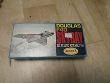 AURORA DOUGLAS F4D SKYRAY  WITH STAND MODELS SCALE: 1:100 BNIB