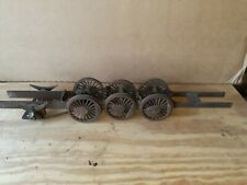 "VINTAGE  Model Live Railroad Train Locomotive Chassis & Trucks 3 1/2"" Wheels"