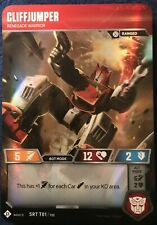 Cliffjumper Renegade Warrior - SRT 01 SDCC Convention Exclusive Super Rare Foil