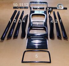 PORSCHE CAYENNE CARBON FIBER INTERIOR SET KIT 19 PC 955 957 GENUINE CARBON FIBER