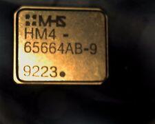 HM4-65664AB-9 8Kx8 gold static ram MHS HM-65664-AB-9 PLCC32 ultimate CMOS SRAM