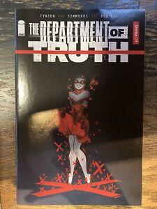 Image Department of Truth #1 1:50 var cvr by (CA)Mirka Andolfo (W)James TynionIV