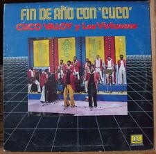 """CUCO VALOY Y LOS VIRTUOSOS """"FIN DE ANO CON CUCO"""" US PRESS LP KUBANEY 1983"""