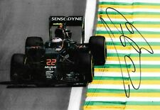 Jenson Button SIGNED 12x8 , McLaren-Honda MP4-31 , Brazilian GP Interlagos  2016