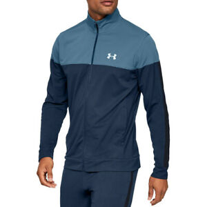 Under Armour UA Sportstyle Mens Pique Lightweight Fitted Sports Running Jacket L