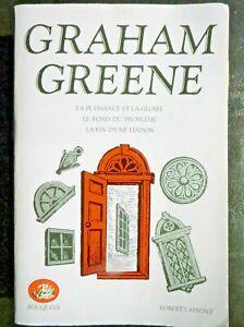 Collection Bouquins : Graham Greene, La puissance et la gloire, 1981