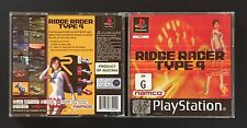 RIDGE RACER TYPE 4  - PS1 GAME - VINTAGE - CLASSIC - PLAYSTATION - PS2