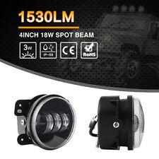 18W LED Fog Light For  Jeep Wrangler JK Front Bumper Lamp (Fits: Jeep Wrangler)