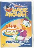 Disney's MAGIC ENGLISH vol. 7 HAPPY BIRTHDAY - DVD Abbinamento Editoriale