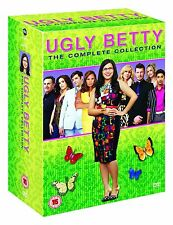 COFANETTO DVD - UGLY BETTY STAGIONE SERIE 1 2 3 4  22 DVD NUOVO