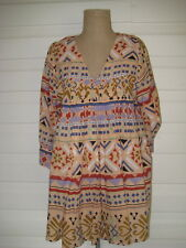 Alessi Gorgeous 100% Cotton L/S Tunic Top. Size L. Pre-Owned. Excel. Condition