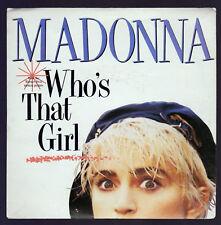 "MADONNA DISCO 45 GIRI 7"" OST WHO'S THAT GIRL  - ITA SIRE / WEA 92 8341-7"