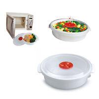 Casseruola Cottura a Microonde Contenitore Cucina Alimenti Raffredda Casa 379