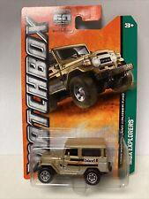 2013 Matchbox #90 MBX Explorers Gold 1968 Toyota Land Cruiser FJ40