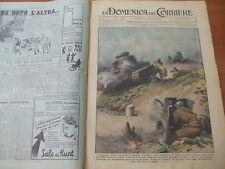 DOMENICA DEL CORRIERE 21-1938 EROISMO DI LEGIONARI ITALIANI IN SPAGNA