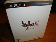 New FINAL FANTASY XIII-2 COLLECTOR'S EDITION Playstation 3 PS3 RPG GAME