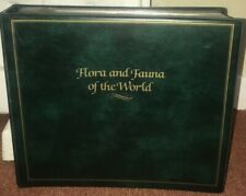 """Collection of covers """"FLORA AND FAUNA OF THE WORLD"""" national audubon society"""