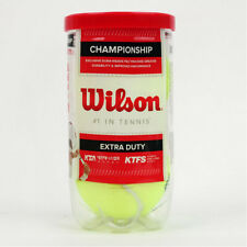 Wilson Tennis Ball Championship Extra Duty 2 Balls Can Yellow Wrt1067K0