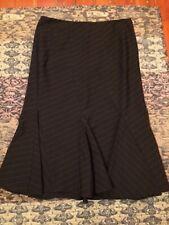 Laundry by Shelli Segal black flamenco-style skirt vintage 1990s size 4