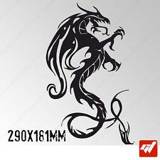 Sticker Dragon Tribal 290x181mm Peganitas aufkleber autocollant - TRIB002