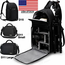 Waterproof Sling Camera Bag Backpack For Canon Sony Nikon Fujifilm Samsung DSLR