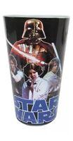 NIB STAR WARS PINT GLASS DRINKWARE GLASSWARE LUKE SKYWALKER DARTH VADER PRINCESS