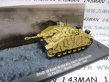 PZ13 Tank militaire 1/72 PANZER n°13 STUG. III SdKfz 142/1 URSS 1943