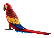 Hansa 3067 Macaw Red 12 3/16in - Stuffed Toy Gift Handicraft