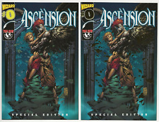ASCENSION ZERO SPECIAL EDITION #0A + #0B (Gold) NEAR MINT | TOPCOW/WIZARD COMICS